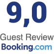 Booking.com - Guest Review 9,7