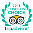 Trip Advisor® - Travellers' Choice™ 2018